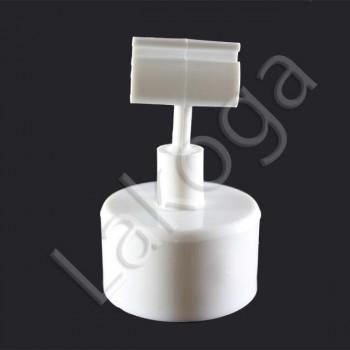 Колпачок на бутылку с зигзагом 2 (белый)
